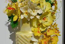 Weddin cake Tropical Flower