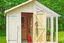 sheds, aviaries, chicken coups
