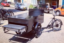 Cargo bikes / Two and three wheeled human powered trucks