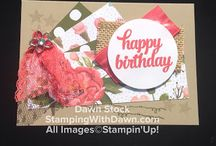 Birthday Bouquet DSP - Stampin' Up!