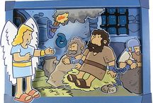 Petrus ontsnapt uit de gevangenis (Peter escapes from prison)