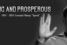 Leonard Nimoy Spock / Rest In Peace 1931 - 2015