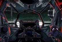 TIE Fighters & other spacecraft