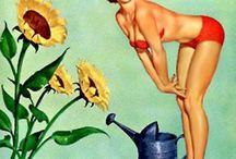 Femmes ,Pin up