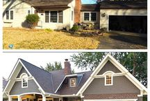 Exterior remodels / by Shannon Schilling