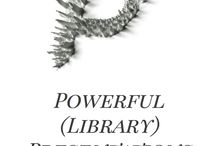 Powerful (Library) Presentations Safari / Please pin presos that inspire you based on design, message, impact, or more!