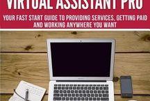Becoming a Virtual Assistant / Articles, Tips, Books and E-Books for Becoming a Virtual Assistant / by Lisa Santos