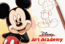 Disney Art Academy / Learn at your own pace as you draw your way through 40 lessons inspired by Disney art and Pixar animations.       Learn more about Disney Art Academy for Nintendo 3DS: http://artacademy.nintendo.com/disney/