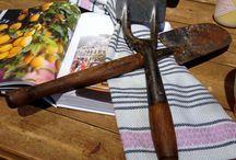 Garden Sheds & Vintage Tools