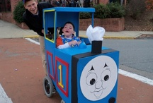 Wheelchair costumes / Some great ideas of how to turn your child's wheelchair into part of their Halloween costume