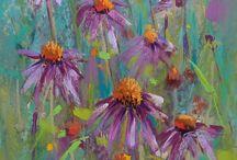 pastel karen e margulis / Moje nejoblíbenější pastel Painter. Denně ji už roky sleduji na Daily painting.