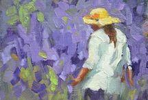 Paintings_ Bruce Bingham / by Linda Spang