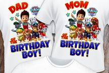 Birthday Shirt | Ideas & Inspiration / DIY t-shirt crafts. Custom t-shirt designs and inspiration!