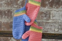 Crochet Mitts & Gloves / A selection of Crochet Mitts & Gloves.