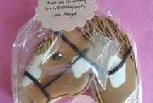 Horse themed treats