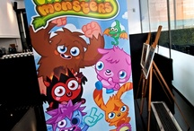Moshi Monsters Arrive / A recent event for entertainment company Mind Candy transformed the Millbank Media Centre. The event was attended by 150 specially invited guests, and a fair few little monsters put in an appearance too!