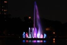 Denver City Park Fountain