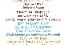 Quotes / by Tisha Wilson