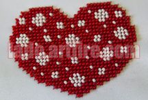 How to make bead embroidery