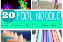 Pool noodle ideas / Pool noodle ideas / by Norma Elizalde