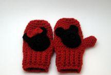 Crochet Gloves/ Mittens/ Slippers/ Headbands