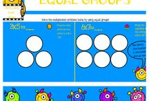 K-3 Math Activities! / This is a board for any and all math activities that can be used for grades K-3! Feel free to post as often as you would like!