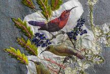 Oiseau textile