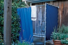Outdoor Showers / by The Painted Home