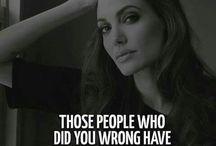 Angelina - an inspiring beautiful misunderstood woman