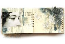 book, journal art / by Carole Chevallet