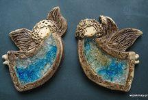 Keramika - andělé