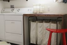 Basement Laundry Room / basement laundry room ideas, unfinished basement laundry room, basement laundry room makeover, basement laundry room curtains, basement laundry room diy, basement laundry room remodel, small basement laundry room, basement laundry room organization