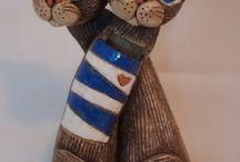 keramika kočka