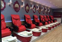 Nail salons / Kalopi pedicure spa chairs at nail salons. visit us at kalopi.com