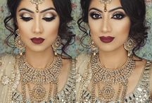 Asian wedding hair/makeup