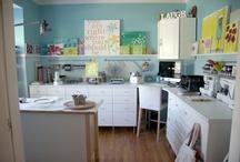 sewing room / by Kristy Visser