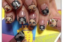 Kitties nails