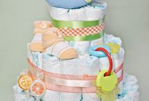 Sweet diaper cakes / by Maria Irvine