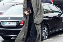 Coat long woolly o