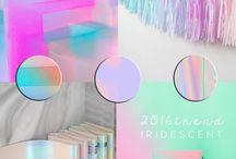 Iridescent TREND. ITALIANBARK / Iridescent design, holographic design, iridescent colour trend, iridescent interiors - ITALIANBARK interior design blog