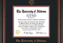 University of Alabama Diploma Frames & Graduation Gifts!