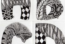 Zentangle / What better way to relax and create some fab art!