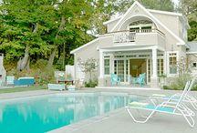 Cool Pools & Pool Houses / by Rebecca