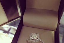 Diamant-forlovelsesringer