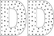 Nájdi písmeno ° find the letter