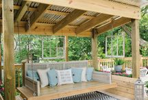 Porch & Patio Inspiration / Need some inspiration for your summer hang-out spot? Pin your favorite porches and patios!