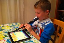 TEACHING music and recorder.