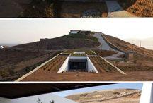 Dune Desert Earth Architecture