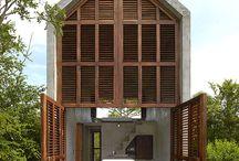 Aranza de Arino / Casa Tiny / nowoczesna STODOŁA