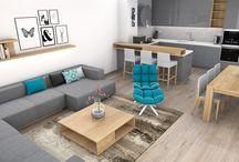 Sivé obývačky
